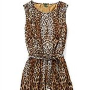 Leopard Print Dress, C. Wonder, XXS